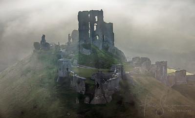 Corfe Castle Dawn