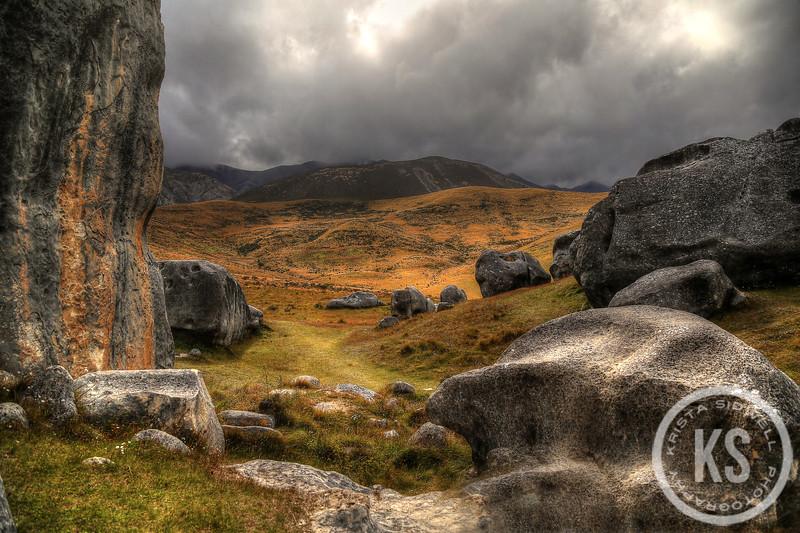 A Scene on Castle Hill