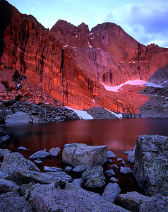 Chasm Lake Sunrise 3, RMNP