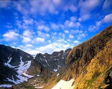Longs Peak at Chasm Junction RMNP
