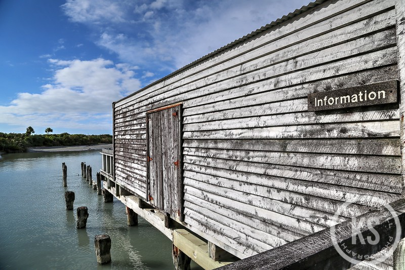 Okarito Lagoon Information Center, Okarito, New Zealand