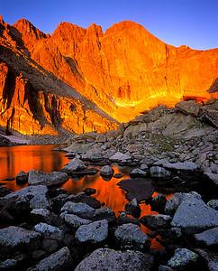 Chasm Lake Sunrise 4, RMNP