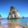 Te Hoho Rock, Cathedral Cove, Coromandel, New Zealand