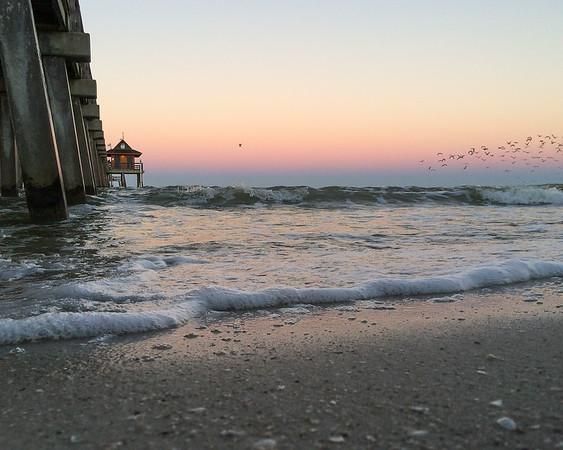 Sunrise at the Naples Pier