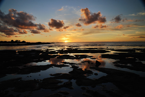 Beach Landscape on the Big Island,Hawaii