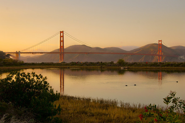 Golden Gate Bridge Sunset-6221