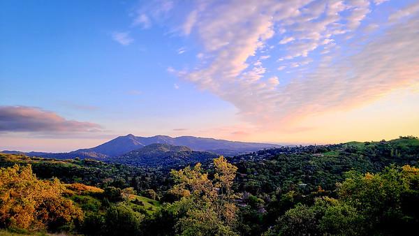 Mt  Tam Sleepy Hollow Sunset-191817