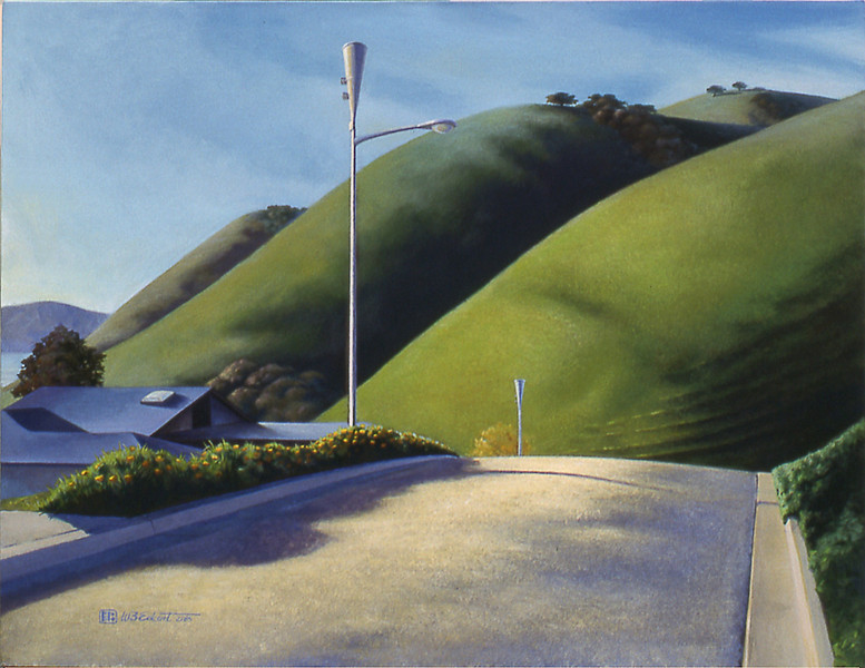 """From Pismo Heights"" (acrylic on canvas, private collection)"