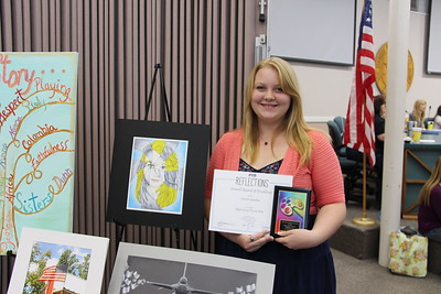 Lanette Gardner (NBHS), High School Visual Arts Overall Award of Excellence winner in the 2017 PTA Reflections Contest.