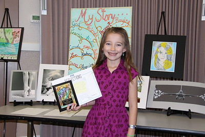 Avery Conway (Walnut Springs ES), Award of Excellence for Dance Choreography in the 2017 PTA Reflections Contest.