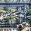 Reflections of Dinkey Creek Bridge