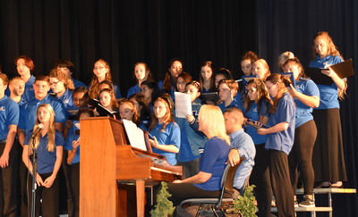NBHS Fall Choir Concert (photos by Choir Parent Lisa Williams)