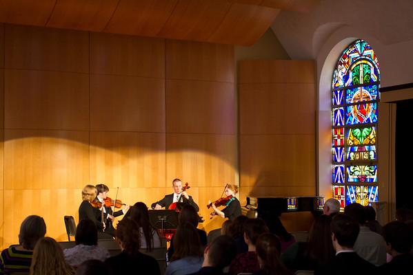 Credo Quartet Recital