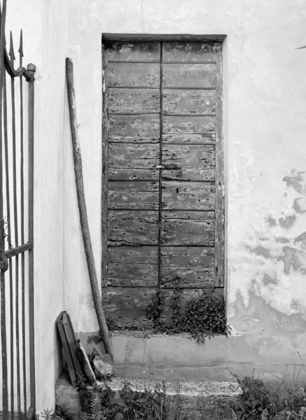 Door, near Lucca, Italy.
