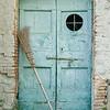 Door near Lucca, Italy.