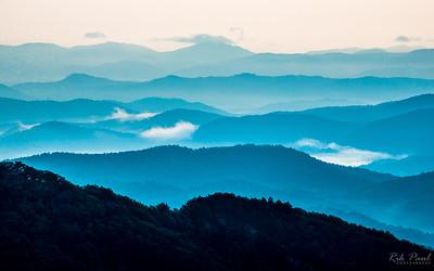 Appalachian skyline