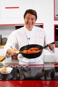 Chef Eric Teo, Singapore, 2016.