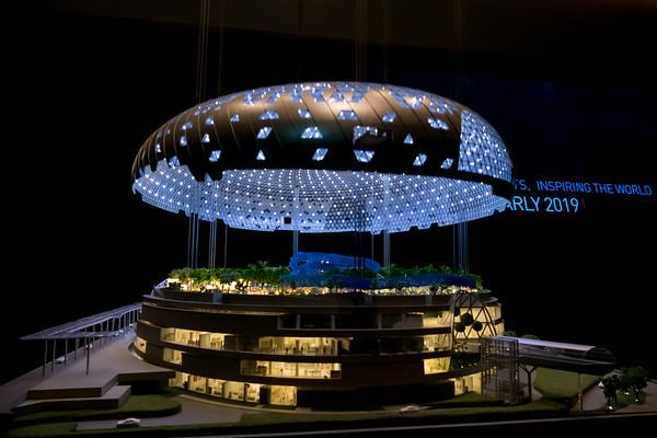 Changi Jewel Showroom, Singapore.