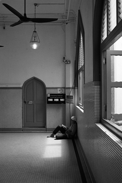 recharging, sultan mosque, singapore