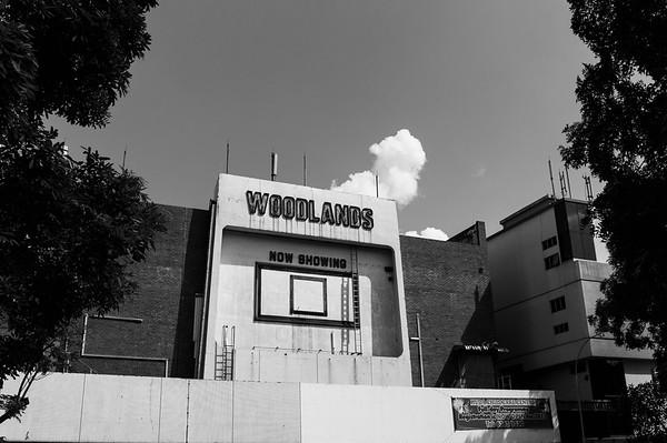 old cinema at woodlands, singpaore 2014.