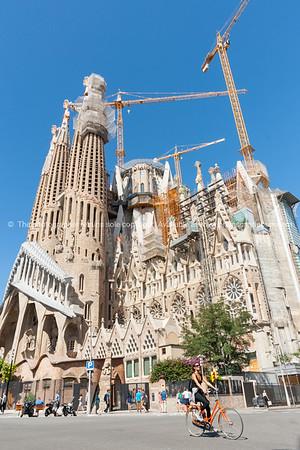 Sagrada Famila Barcelona Spain