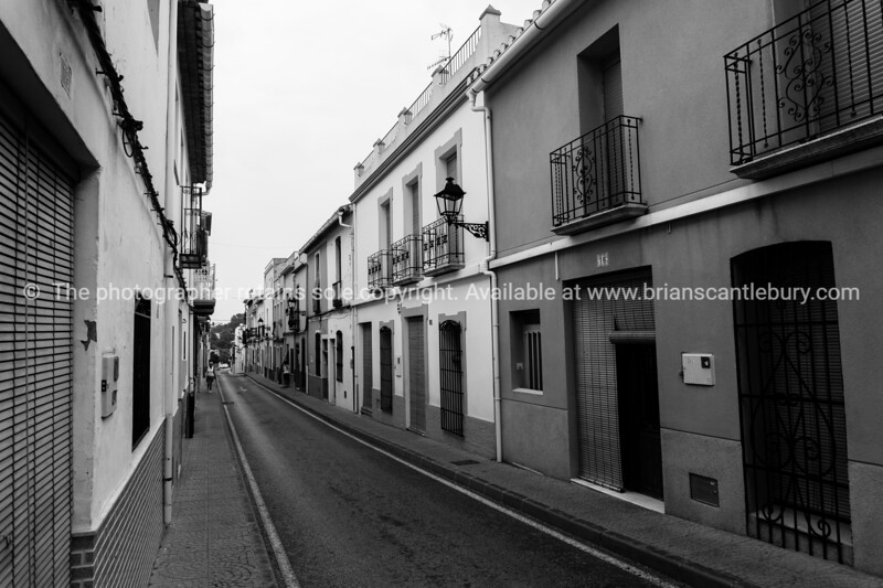 Orba street, Spain