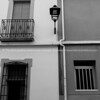 Orba, village streets and buildings, Spain