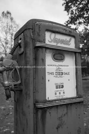 American petrol pump