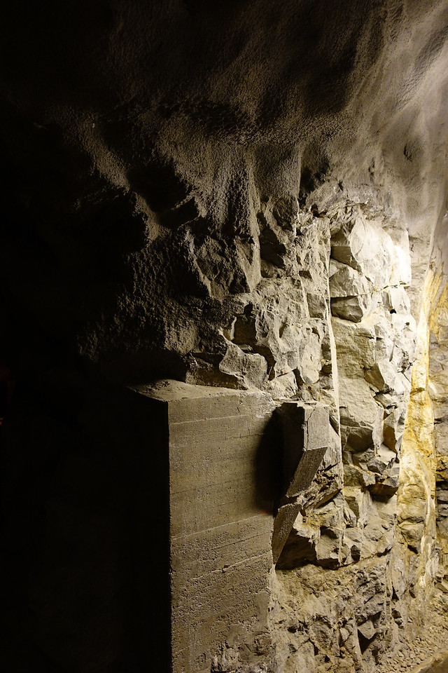 Bergrummet, Skeppsholmen