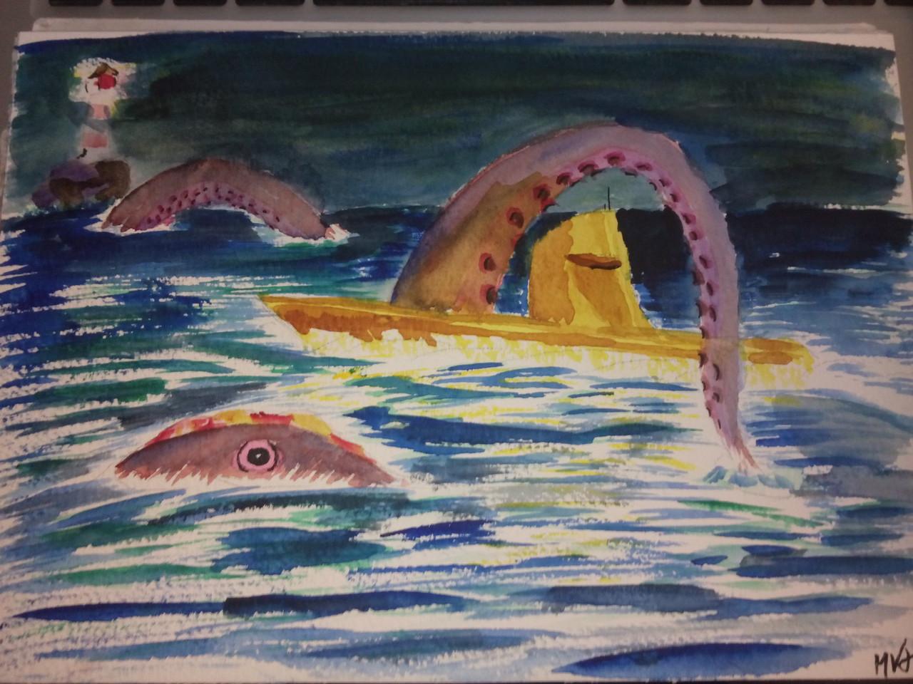 Leif Erickson and the Leviathan