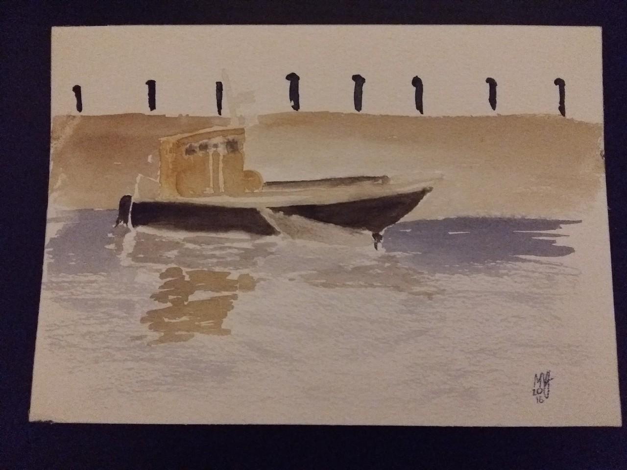 Båt, Norra Hammarbyhamnen