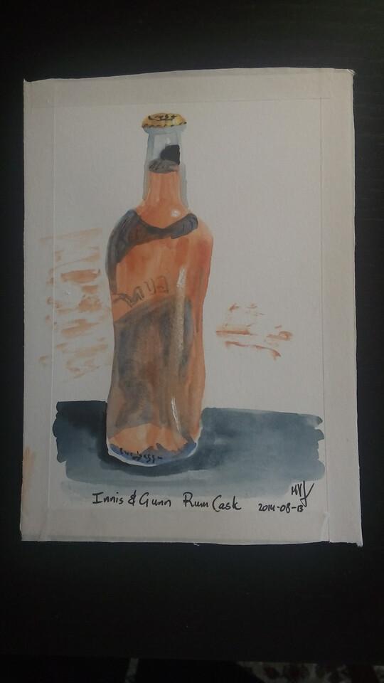 Innis and Gunn, rum cask