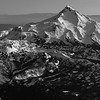 Mt. Jefferson in Black and White