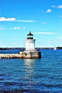 Portland Breakwater Light, AKA Bug Light. South Portland, Maine