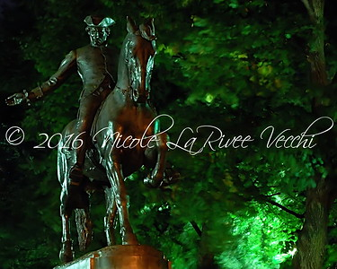 Statue of Paul Revere, Boston