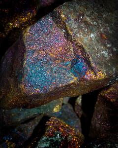 macro rock photography