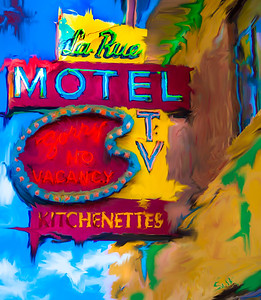La Rue Motel,  Denver