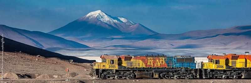 FCAB - Die Erzbahn zw. Chile und Bolivien
