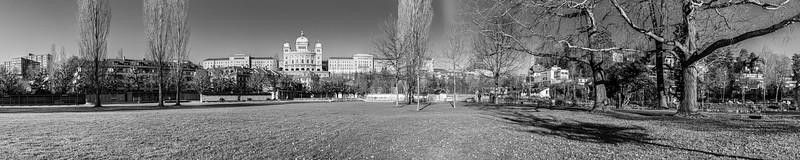 Bern - Marzilibad und Bundeshaus