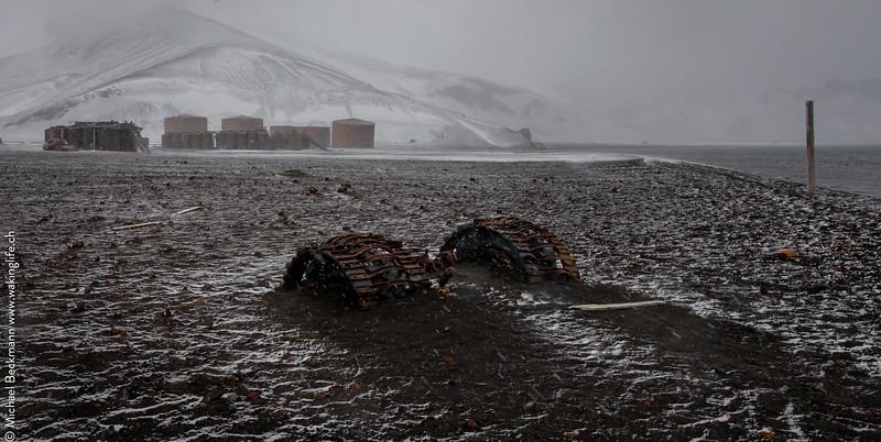 Deception Island - Whalers Bay