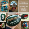 Custom painted rocks, small or large, topic and wording of your choice. Price dependent on size and amount of detail in the painting.   Range $40 to $60+