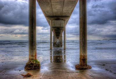 Ocean Beach Pier San Diego, California