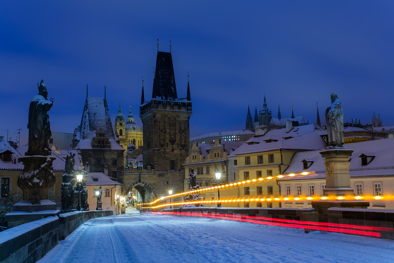Charles Bridge & Snowplow