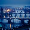 Bridges in blue