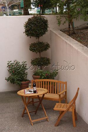 Cafe at Monterey Bay