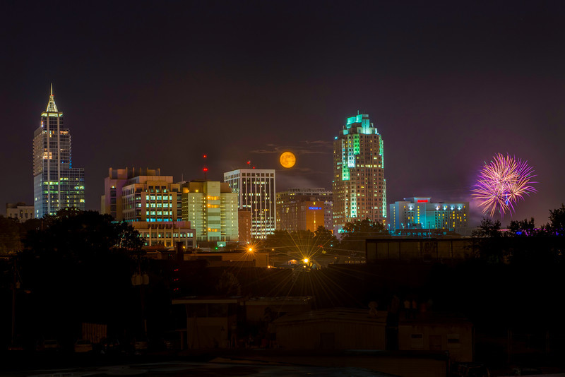 Raleigh Moonrise