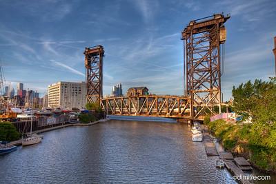 Chicago Amtrak Railroad Bridge 8436