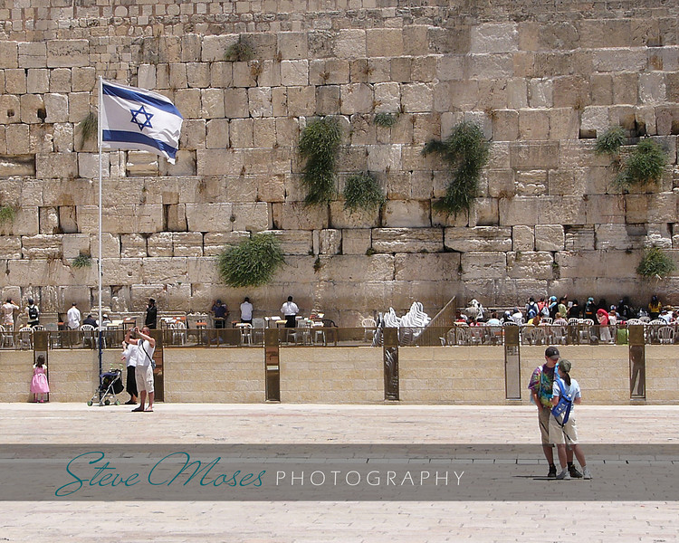 """At the Kotel""<br /> Location: Jerusalem, Israel"