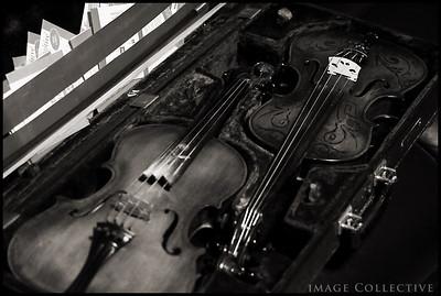 John's prized instruments.