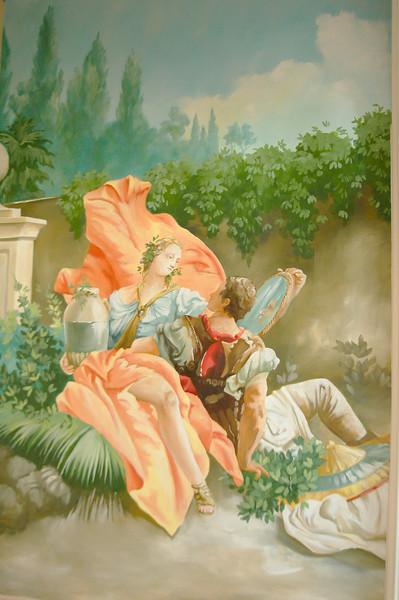 french pastoral scene